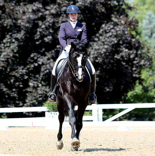Emily Miles on Wakeup, USA Developing Grand Prix Champion. © 2015 Ken Braddick/dressage-news.com