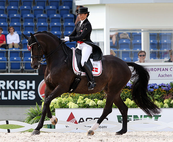 Mikala Gundersen on My Lady for Denmark © 2015 Ken Braddick/dressage-news.com