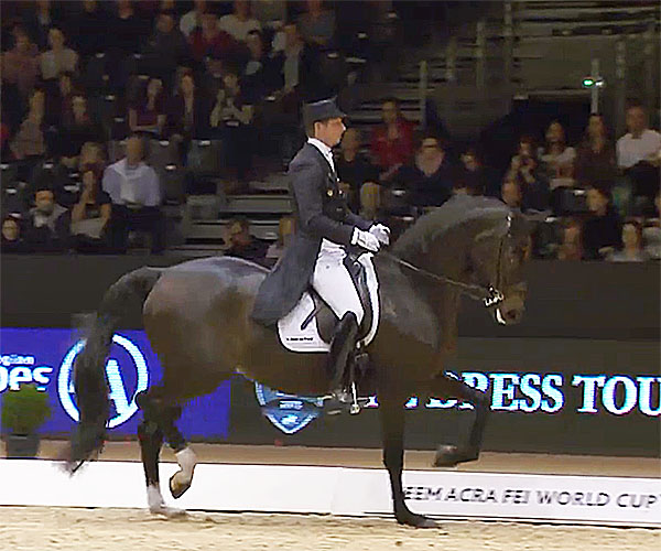 Patrik Kittel and Deja in the World Cup Freestyle at Lyon.