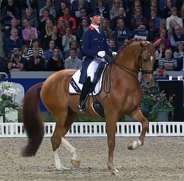 Adelinde Cornelissen on Jerich Parzival at Stockholm.