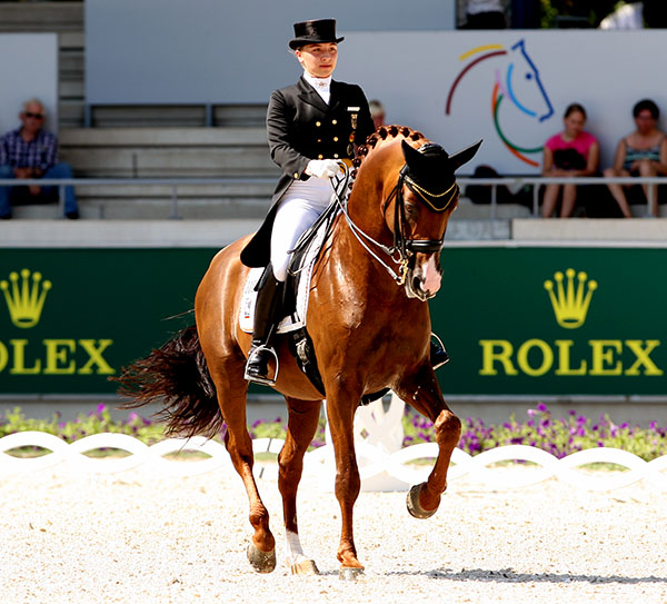 Charlott-Maria Schürmann and Burlington FRH. File photo © Ken Braddick/dressage-news.com