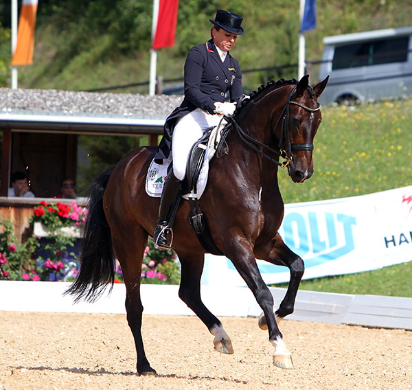 Dorothee Schneider and Showtime. © Ken Braddick/dressage=news.com