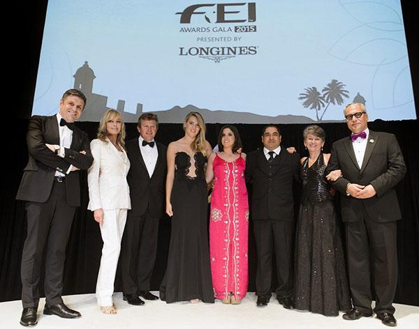 FEI 2015 Awards winners. © 2015 FEI/Richard Juilliart