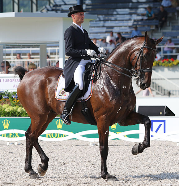 Jeroen Devroe of Belgium on Eres DL. FILE PHOTO © 2015 Ken Braddick/dressage-news.com