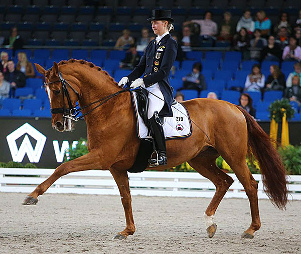 Sanneke Rothenberger and Wolke Sieben. © 2015 Stuttgart German Masters