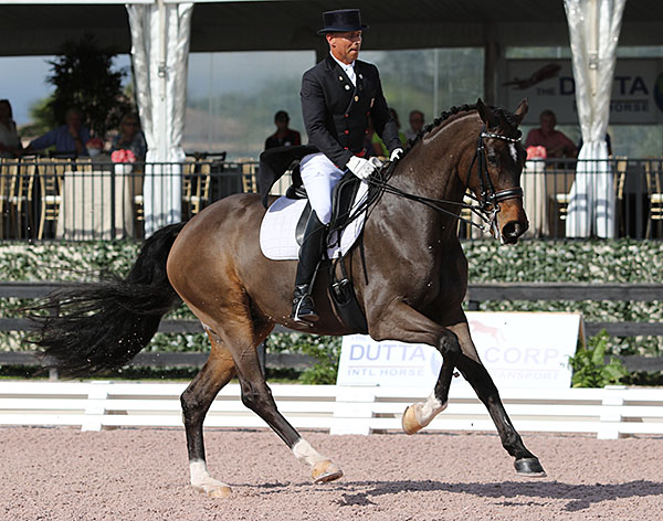 Steffen Peters and Legolas. File photo. © Ken Braddick/dressage-news.com