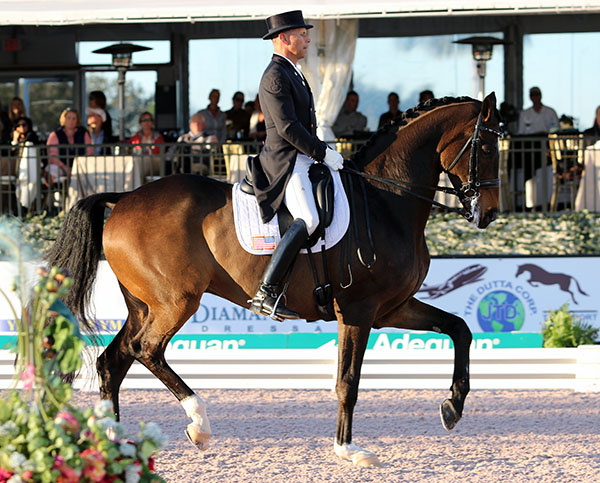 Steffen Peters and Legolas. © 2016 Ken Braddick/dressage news.com