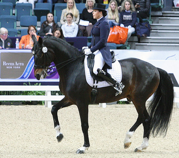 Inessa Merkulova and Mister X in the World Cup Final Grand Prix. © Pelle Wedenmark/dressage-news.com