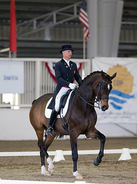 Steffen Peters and Legolas at the Dressage Affaire CDI3* © 2016 Terri Miller