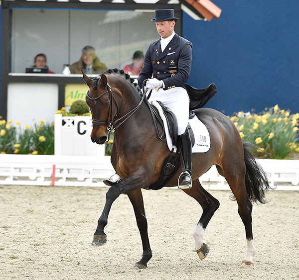 Patrik Kittel and Deja at the Hagen Horses & Dreams CDI4*. © Karl-Heinz Frieler