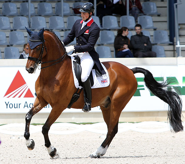 Michael Eilberg and Marakov. File photo. © Ken Braddick/dressage-news.com
