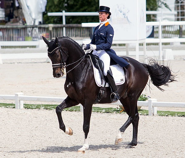Adelinde Cornelissen and Aqiedo. © 2016 Lily Forado for dressage-news.com