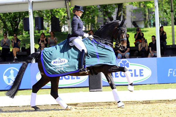 Dorothee Schndeider and Showtime at the Pfred International in Munich. © 2016 Timeline Photos