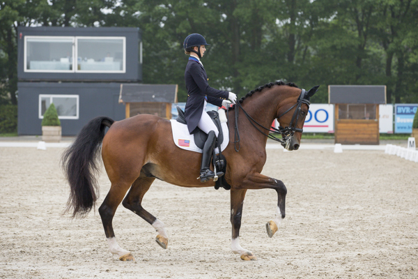 Laura Graves and Verdades in the CDI4* Grand Prix at Roosendaal. © 2016 DigiShots
