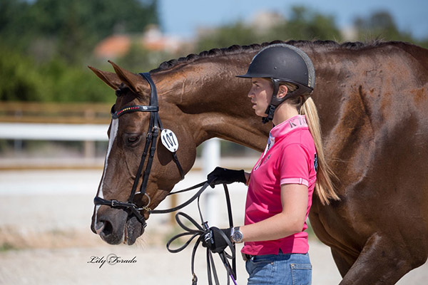 Morgan Barbançon Mestre and Girasol that she is looking to take to the rider's second Olympics. © 2016 Lily Forado for dressage-news.com