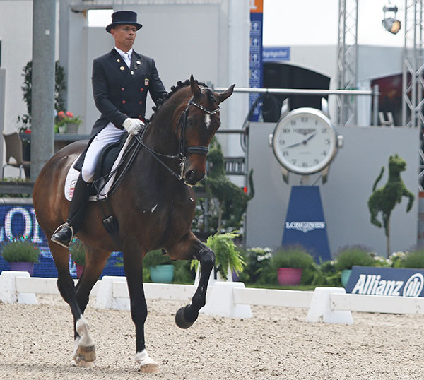 Steffen Peters and Legolas at Rotterdam. © 2016 Ken Braddick/dressage-news.com