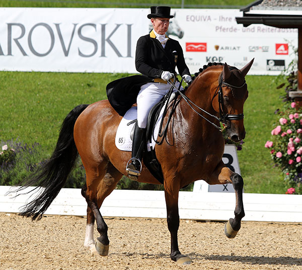 Isabell Werth and Emilio. © 2016 Ken Braddick/dressage-news.com