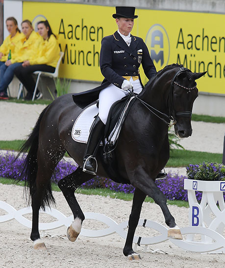 Isabell Werth and Weihegold OLD in the Nations Cup Grand Prix Special. © 2016 Ilse Schwarz/dressage-news.com