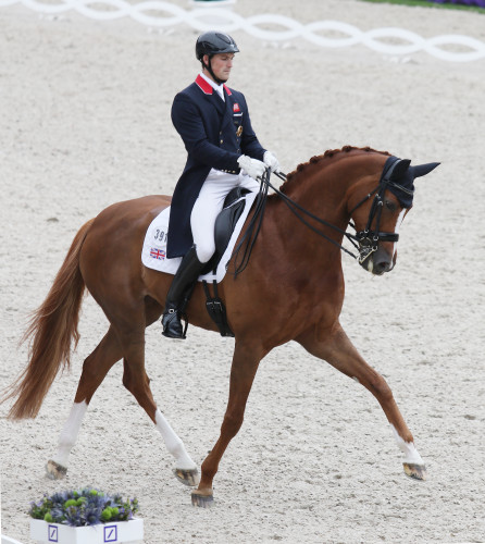 Michael Eilberg and Woodlander win the Prix St Georges © Ilse Schwarz/dressage-news.com