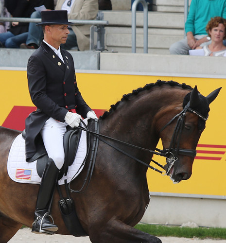 Steffen Peters and Legolas are all about relaxation and harmony in their freestyle ride © Ilse Schwarz/dressage-news.com