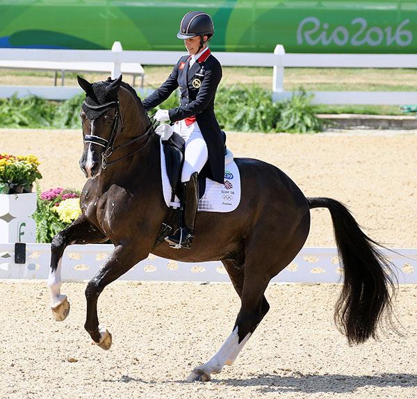 Horses etc llc charlotte dujardin valegro win olympic for Charlotte dujardin