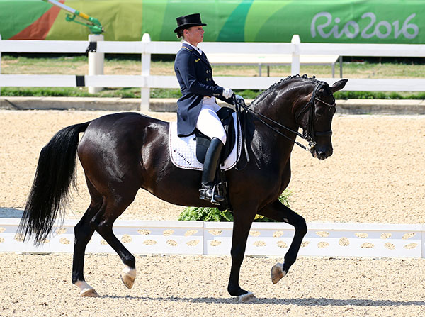 Isabell Werth and Weihegold OLD. © 2016 Ken Braddick/dressage-news.com