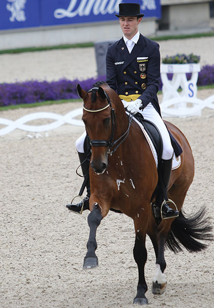 Sönke Rothenberger on Cosmo. © 2016 Ken Braddick/dressage-news.com