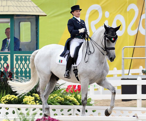 Bernadette Pujals and Heslegaards Rolex. File photo © 2016 Ken Braddick/dressage-news.com