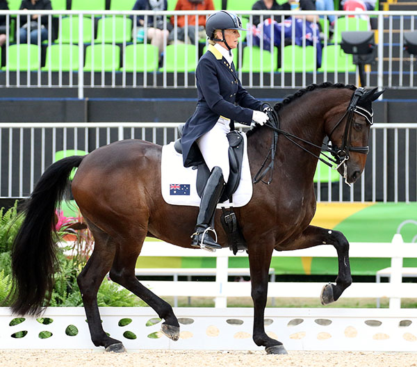 Mary Hanna and Boogie Woogie. © 2016 Ken Braddick/dressage-news.com
