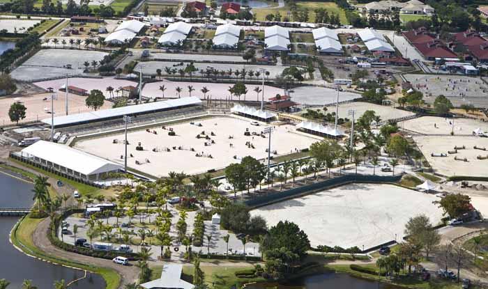 Palm Beach International Equestrian Center In Wellington Florida Ken Brad Dressage